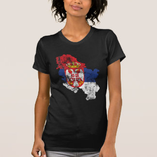 Serbia Distressed Flag T-Shirt