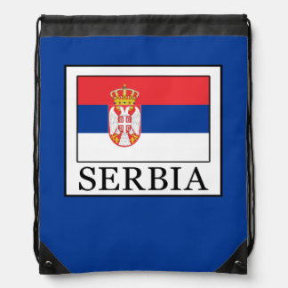 Serbia Drawstring Bag