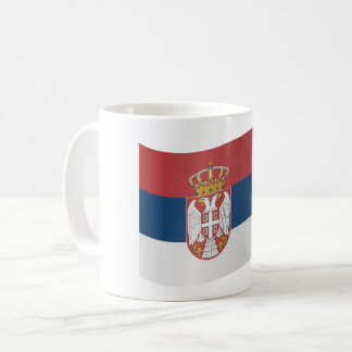 Serbia Flag Coffee Mug