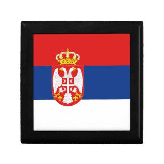 Serbia Flag Gift Box