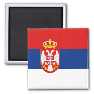 Serbia Flag Magnet