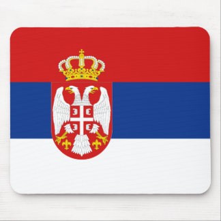 Serbia Flag Mousepad