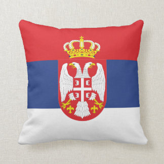 Serbia Flag pillow