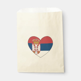 Serbia Flag Simple Favour Bags