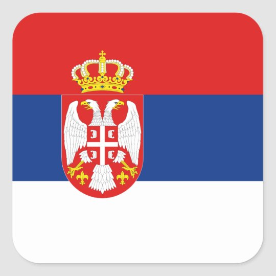 Serbia Flag Sticker