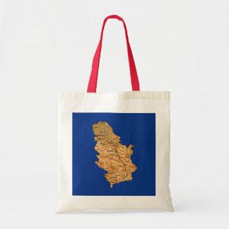 Serbia Map Bag