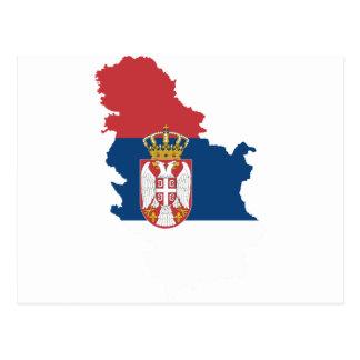 serbia postcard