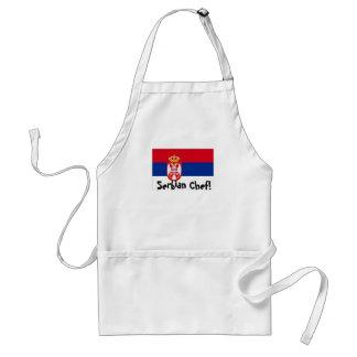 Serbia serbian Chef apron