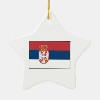 Serbia – Serbian Flag Christmas Ornaments