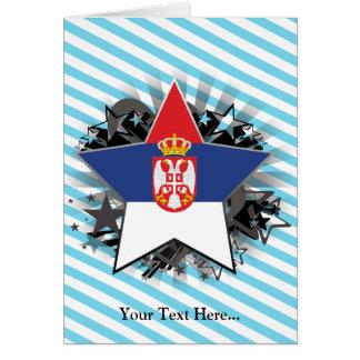Serbia Star Card
