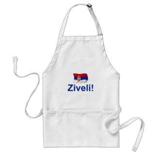 Serbia Ziveli! Standard Apron