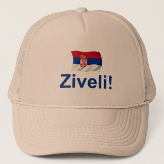 Serbia Ziveli! Trucker Hat