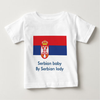 Serbian baby t-shirt