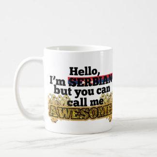 Serbian, but call me Awesome Mug