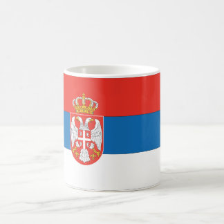 Serbian Flag Coffee Mug