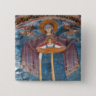 Serbian Orthodox Church, and a UNESCO site, 15 Cm Square Badge