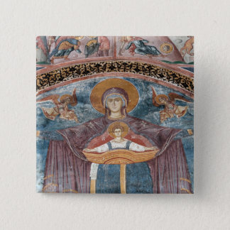 Serbian Orthodox Church, and a UNESCO site, 2 15 Cm Square Badge