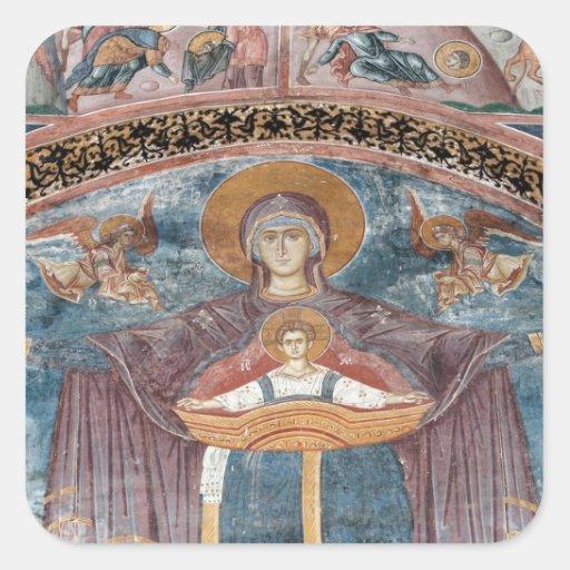 Serbian Orthodox Church, and a UNESCO site, 2 Sticker