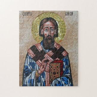 Serbian Orthodox Saint Sava Puzzle