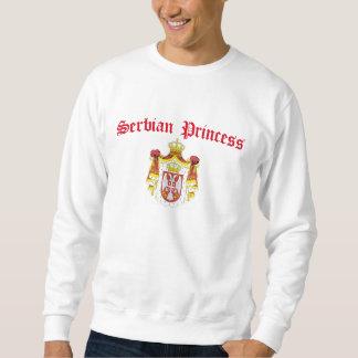 Serbian Princess (with Serbia Coat of Arms) Sweatshirt