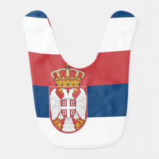 Serbian state flag bib