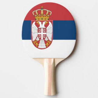 Serbian state flag ping pong paddle