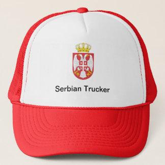 Serbian Trucker Trucker Hat