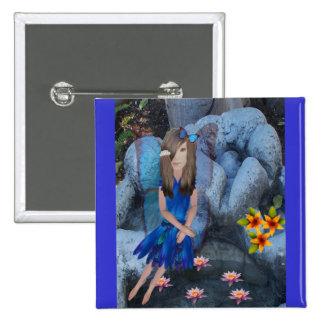 Serena le Bleu 15 Cm Square Badge