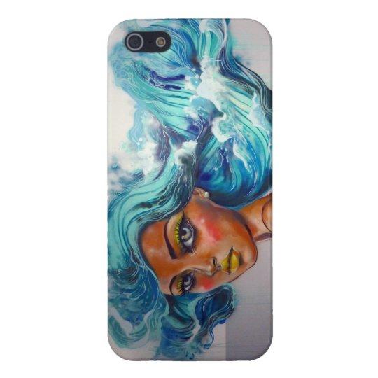 Serena Ocean Haired Mermaid I iPhone 5 Cover