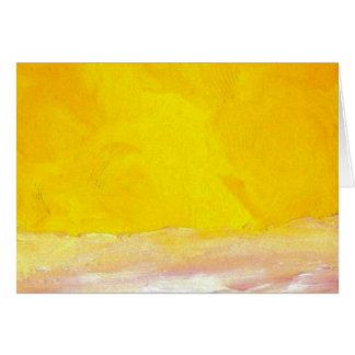 """Serenade""  CricketDiane Ocean Art Card"