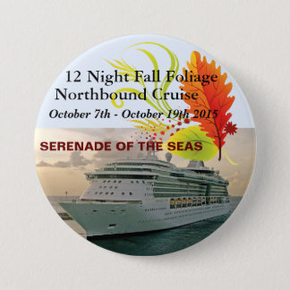 "Serenade Cruise 3"" Pin"