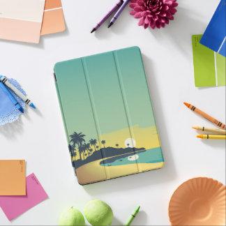 Serene Beach Sunset & Palm Trees iPad Air Case iPad Air Cover