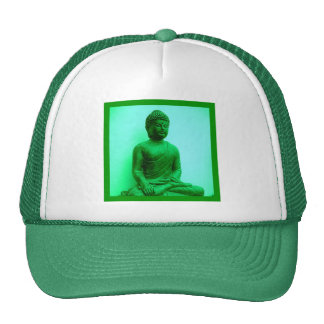 Serene Buddha meditating Hats