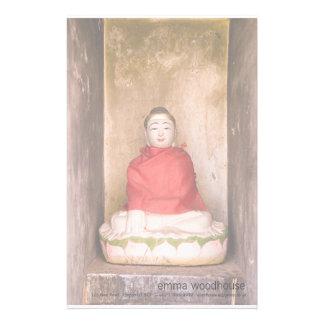 Serene Buddha Personalized Stationery