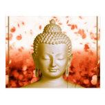 Serene Buddha postcard