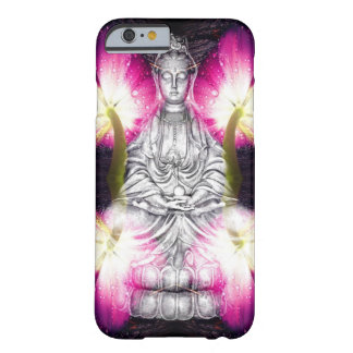 Serene Buddha & Tulips Barely There iPhone 6 Case