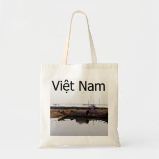 'Serene fishing village' Budget Tote Bag