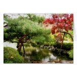 Serene Gardens of Heian Shrine Stationery Note Card