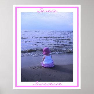 Serene Innocence Posters