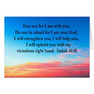 SERENE ISAIAH 41:10 SUNRISE PHOTO CARD