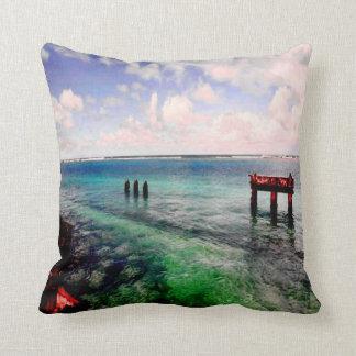 Serene Lagoon Cushion