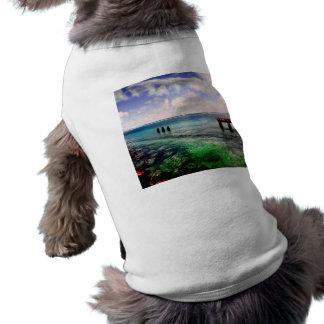 Serene Lagoon Doggie Tee Shirt