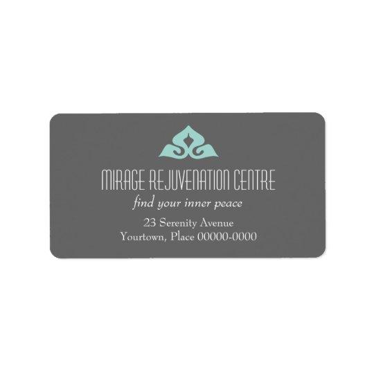 Serene Salon Address Labels