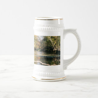 Serene Stream Coffee Mugs
