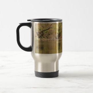 Serene Stream Stainless Steel Travel Mug
