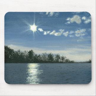 Serene Sun Bounce Art Mousepads