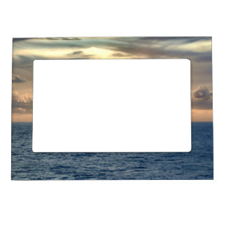Serene Sunrise Magnetic Picture Frame