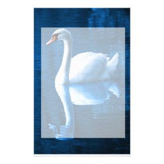 Serene Swan Stationery