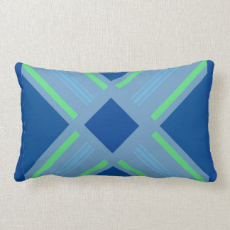 serene symmetry print lumbar cushion