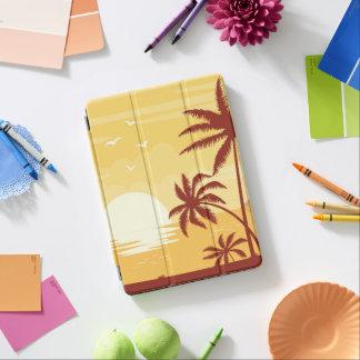 Serene Tropical Sunset & Palm Trees iPad Air Case iPad Air Cover
